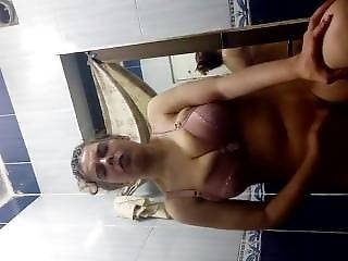 Egyptian Mom Masturbation In Toilet
