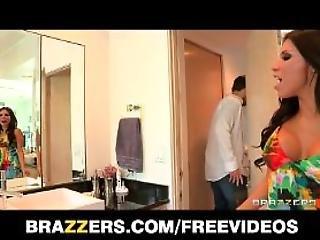 Brazzers  Beautiful Bigbooty Wife Aleksa Nicole Gets Anal