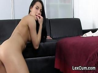 Beautiful Czech Hottie Lexi Dona Fingers And Gets Off