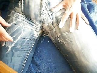 Orgasmus In Messy Jeans