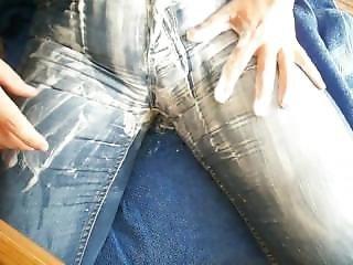 Orgasmus In Messy Jeans