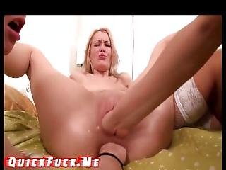 Teen Girls In Super Fisting