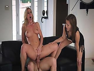 Cherrie Deville Ride Her Pussy On The Local Guys Cock