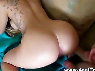 Horny Guy Gets His Ass Fucked By Her Stud Boyfriend