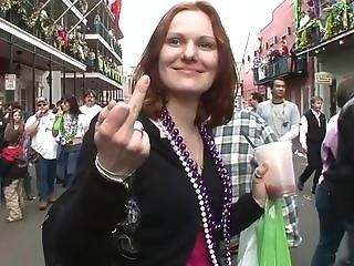 Beads, Blonde, Brunette, Busty, Coed, College, Exhibition, Flashing, Mardi Gras, Outdoor, Party, Public, Spanking, Wild