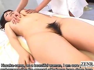 Subtitled Cfnf Japanese Lesbian Breast Massage Shaving