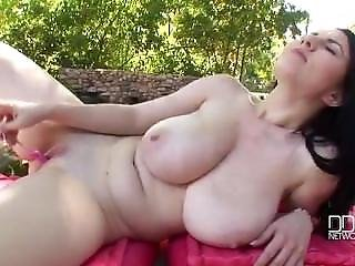 Huge Tits Babe Fucks Her Candy