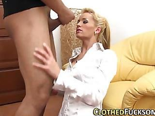 European Slut Cum Soaked