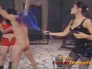 Loser Endures Everything That Two Hot Mistresses Throw At Him-6
