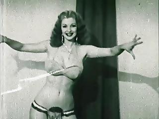 Storm In A D Cup - Vintage Burlesque Striptease 50 S