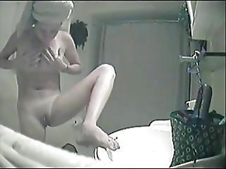 badrum, dold cam, fönstertittare