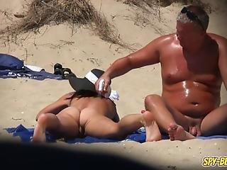 Voyeur Nudist Beach Amateur Milf  Pussy Closeups Video  Watch More Nude Beach Videos On Spybeach