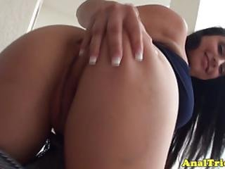 Busty Exgirlfriend Assfucked In Pov Action