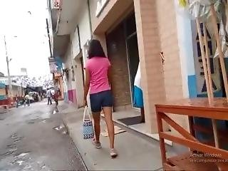 Milf Mamacita Caliente In A Cold Rainy Morn (slow-motion)
