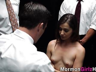 Mormon Teen Cum Dumped
