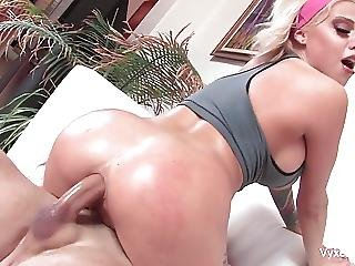 Anal, Big Boob, Blonde, Boob, Fucking, Pornstar, Tattoo, Trainer