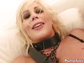 European Blonde Puma Swede Fucks Justice