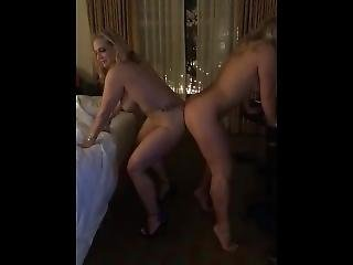 Big Titty Blondes Dancing Naked