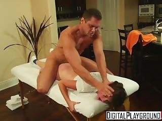 Digital Playground - Masseuse Cassandra Nix Gets Punished