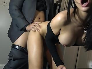 любитель, анальный, большая синица, босс, чешский, чертов, мастурбирует, POV, реальность, молодой