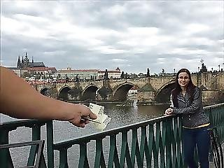 Slovak Girl Zuzanka Fucks And Licks Balls