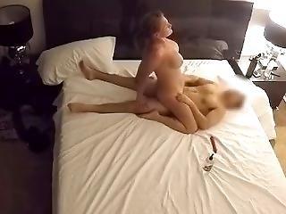 Big Tits Riding Mr. Captain Multiple Orgasms