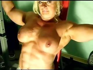 Fbb Naked Gym Workout And Tease