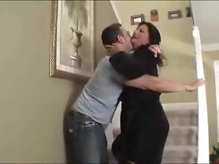 Mom And Stepson Get Naughty