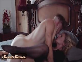 Sweet Sinner Nathan Bronson Is Horny For His Moms Friend Mona Wales