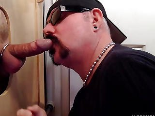 Baseball Player Acquires Gloryhole Sucked