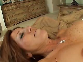 Busty Stepmom Seduces Teen Into Pussylicking