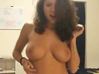 Perfect Busty Amateur Strips