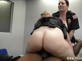 gangbang, hardcore, milf, police, uniforme