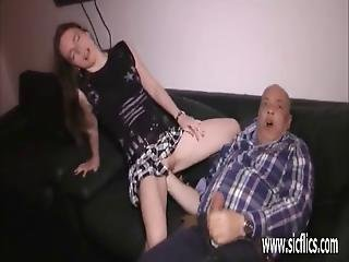 Grizzly Old Pervert Fisting Teens Loose Pussy
