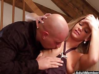 Deep Pussy Pounding For Horny Babe Ally
