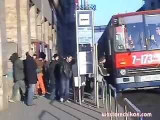 おまんこ, おっぱい, バス, Hugetit, 熟女