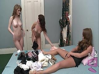 Faye Reagan Ashlyn Rae And Keira Kelly Lingerie Party