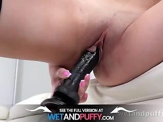 Wetandpuffy - Ella In The Black - Masturbation