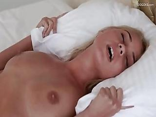 Real Blonde Big Tits Darina Nikitina Orgasmic Massage