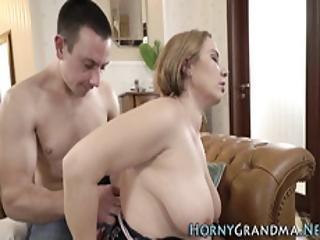 Spunky Mouthed Grandma