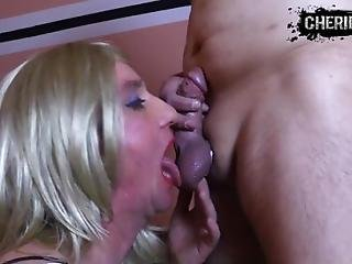 Hard Blowjob For Whore Sissy