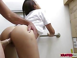 Very Gorgeous Stewardess Rammed By A Big Hard Dick