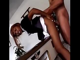 Ebony Maid Bangs