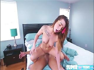 Adorable And Big Butt Bambi Gets Fucked