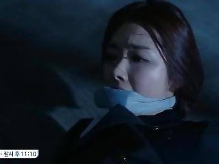 Korean Actress So Yi Hyun Gagged