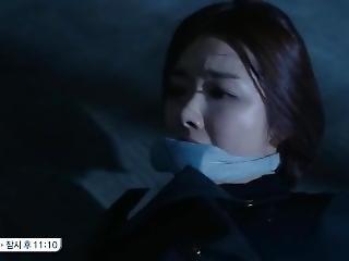 Korean Actress So Yi Hyun Gagged