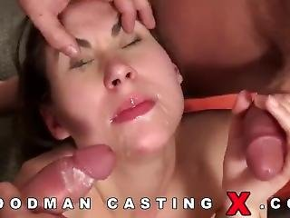 Ugly Hungarian Chick With 2 Dick