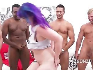 Proxy Paige With A Ton Of Cocks Gangbang