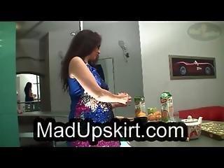 Mature Upskirt Video
