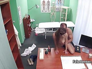 Doctor Cumming On His Teen Patient